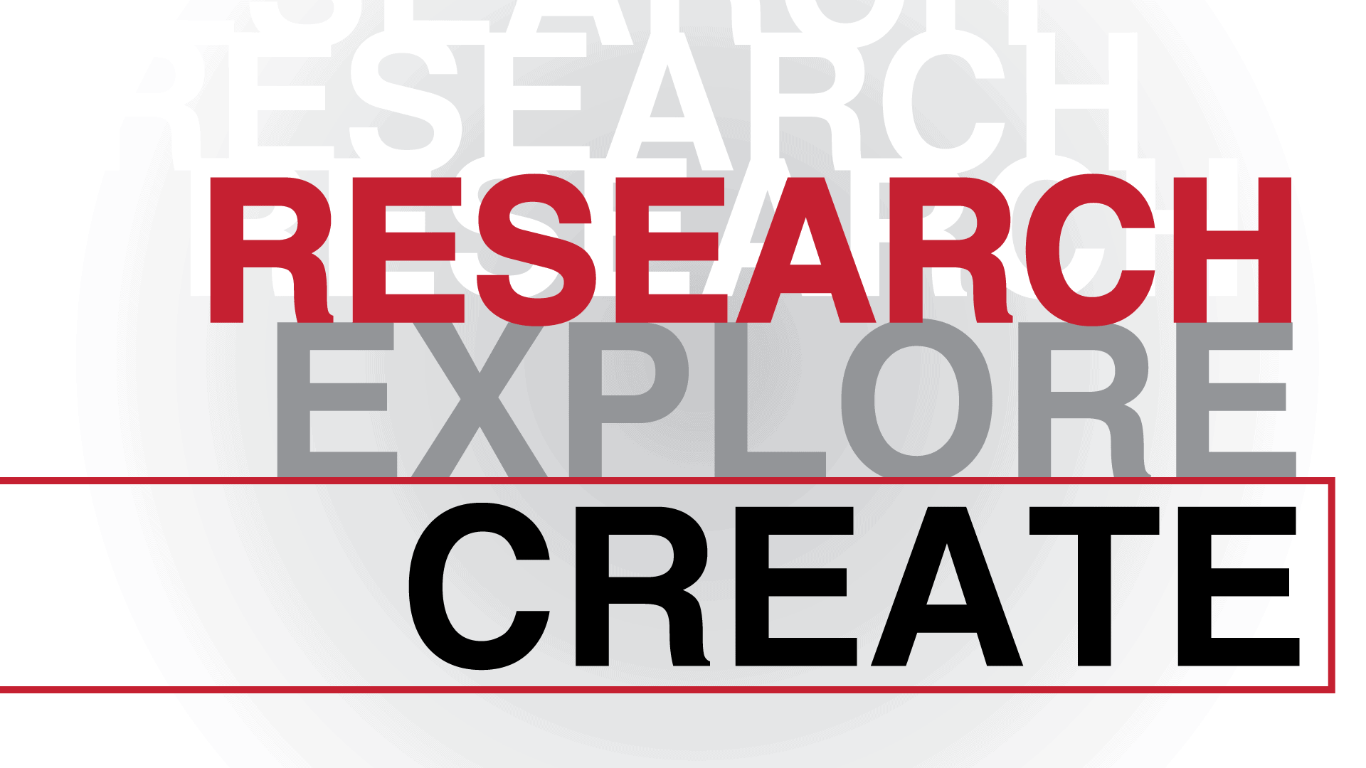 Research, Explore, Create